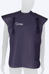 Radiation protective lead lined OPG apron