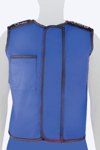 Radiation protective lead lined Tailor-Fit Vest
